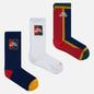 Комплект носков Nike SB 3-Pack Everyday Max Lightweight Crew Multi-Color/Navy/Red/White фото - 0