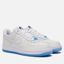 Женские кроссовки Nike Air Force 1 07 Low LX UV White/University Blue/Black/White