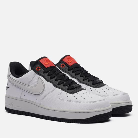 Мужские кроссовки Nike Air Force 1 07 LX Crane White/Photon Dust/Black/Chile Red