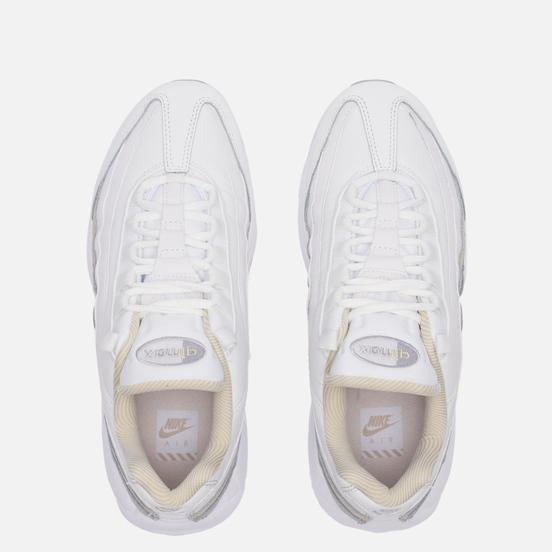 Женские кроссовки Nike Air Max 95 Summit White/Wolf Grey/Rattan/White