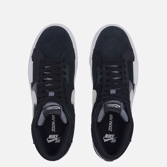 Кроссовки Nike SB Zoom Blazer Mid Premium Mosaic Black/White/Wolf Grey/Cool Grey