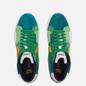 Кроссовки Nike SB Zoom Blazer Mid Premium Mosaic Aloe Verde/University Gold/Rainforest фото - 1
