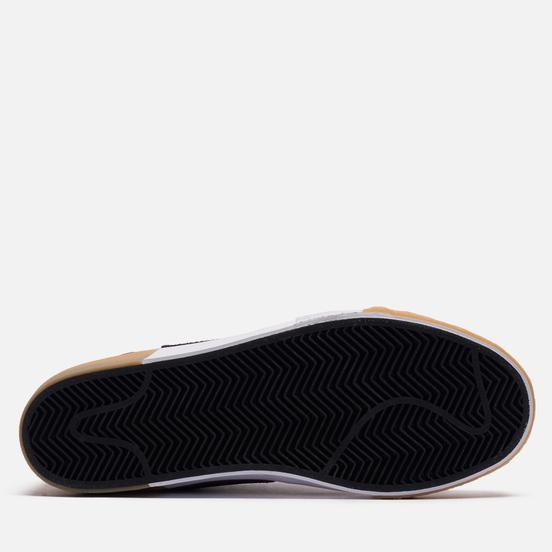 Кроссовки Nike SB Zoom Blazer Mid Premium Mosaic Dark Wine/Black/Pink Oxford/Cashmere