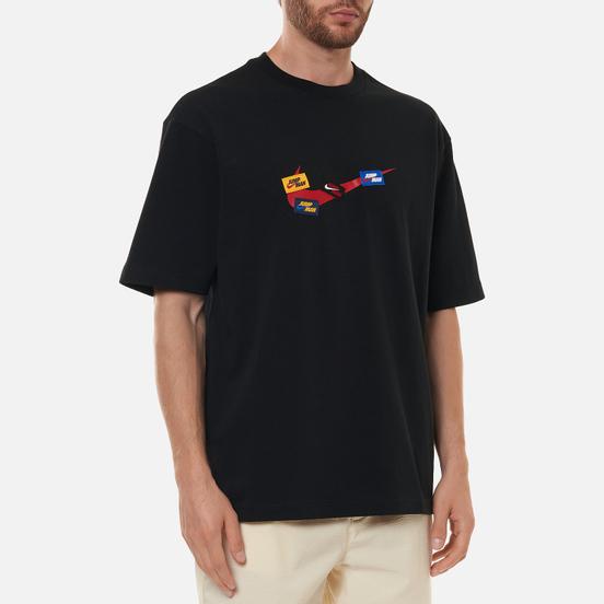 Мужская футболка Jordan Jumpman 85 Crew Black/Gym Red/Gym Red