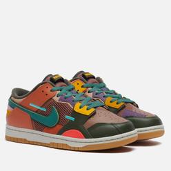 Мужские кроссовки Nike Dunk Low Scrap Archaeo Brown/Bicoastal/Sport Spice