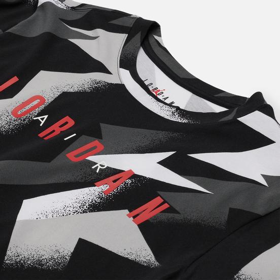 Мужская футболка Jordan Jumpman Air All Over Print Black/White