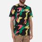 Мужская футболка Jordan Jumpman Air All Over Print Black/Sunset Pulse фото - 2