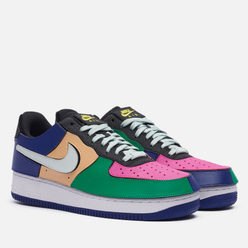 Кроссовки Nike Air Force 1/1 Multi-Color Black/Barely Grey/Lethal Fuchsia