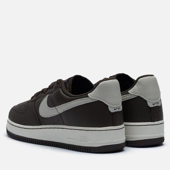 Мужские кроссовки Nike Air Force 1 07 Craft Dark Chocolate/Light Bone/Sail