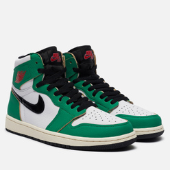 Кроссовки Jordan Wmns Air Jordan 1 High OG Lucky Green Lucky Green/Black/White/Sail