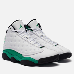 Мужские кроссовки Jordan Air Jordan 13 Retro White/Lucky Green/Black