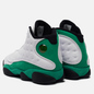 Мужские кроссовки Jordan Air Jordan 13 Retro White/Lucky Green/Black фото - 2