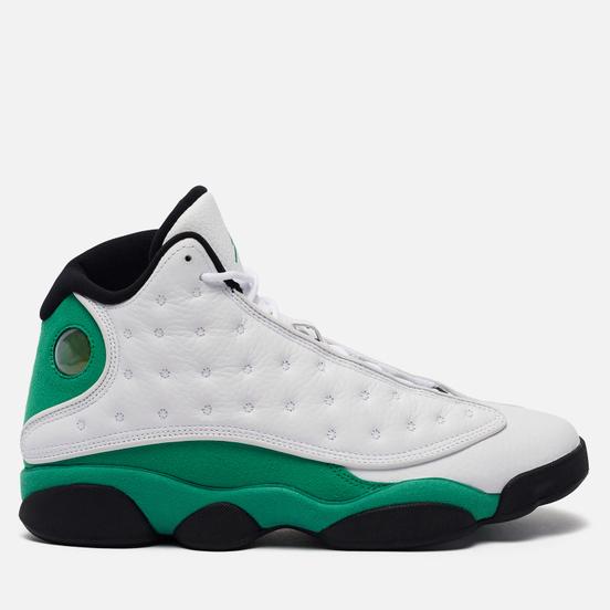 Мужские кроссовки Jordan Air Jordan 13 Retro White/Lucky Green/Black