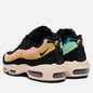 Женские кроссовки Nike Air Max 95 Premium Fuzzy Fur Black/Black/Atomic Pink/Solar Flare фото - 2