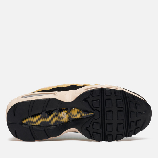 Женские кроссовки Nike Air Max 95 Premium Fuzzy Fur Black/Black/Atomic Pink/Solar Flare