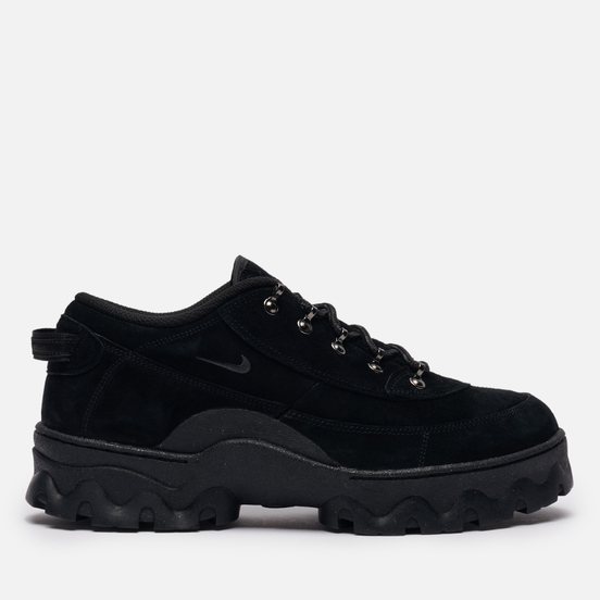 Женские кроссовки Nike Wmns Lahar Low Black/Dark Smoke Grey/Orange/Black