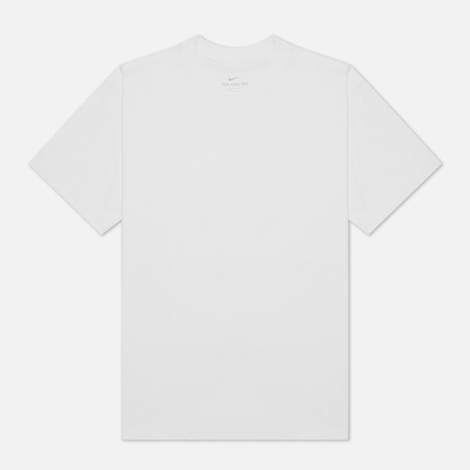 nike футболка для мальчиков nike futura размер 128 137 Мужская футболка Nike SB Essentials