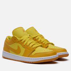 Мужские кроссовки Jordan Wmns Air Jordan 1 Low Yellow Strike Yellow Strike/Pollen/White