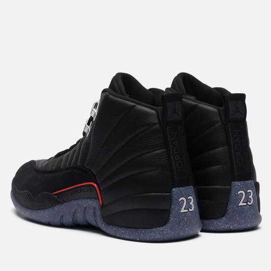 Мужские кроссовки Jordan Air Jordan 12 Retro Black/Black/Bright Crimson/White