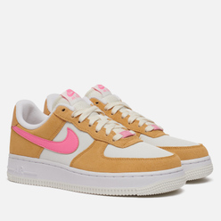 Женские кроссовки Nike Air Force 1 07 Twine/Electro Orange/Sail/White