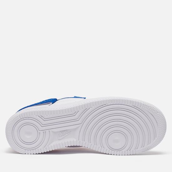 Женские кроссовки Nike Air Force 1 LXX Vandalised Snakeskin White/Game Royal/University Red