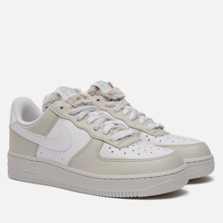 Женские кроссовки Nike Air Force 1 07 Light Bone/White/Photon Dust/Life Lime