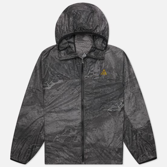 Мужская куртка Nike ACG NRG Windproof Realtree Hooded Black/Peat Moss