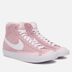 Женские кроссовки Nike Blazer Mid 77 Vintage Pink Foam /Pink Foam /White