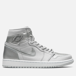 Мужские кроссовки Jordan Air Jordan 1 High OG CO Japan Tokyo Neutral Grey/Metallic Silver/White