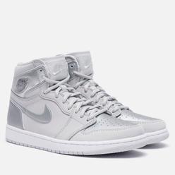 Мужские кроссовки Jordan Air Jordan 1 High OG CO Japan Tokyo Neutral Grey/Metallic Silver/White