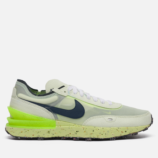 Мужские кроссовки Nike Waffle One Crater Lime Ice Lime Ice/Armory Navy/Volt/White