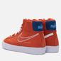 Мужские кроссовки Nike Blazer Mid 77 First Use Orange/White/Deep Royal Blue фото - 2
