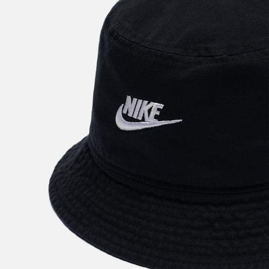 Панама Nike Futura Wash Black/White