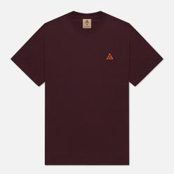 Мужская футболка Nike ACG NRG Embroidered Deep Burgundy/Team Orange