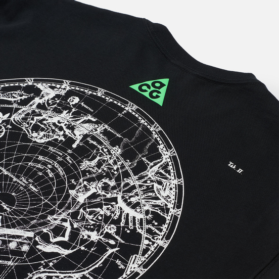 Мужская футболка Nike ACG NRG Stargaze Black/Poison Green