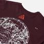 Мужская футболка Nike ACG NRG Stargaze Deep Burgundy/Team Orange фото - 2