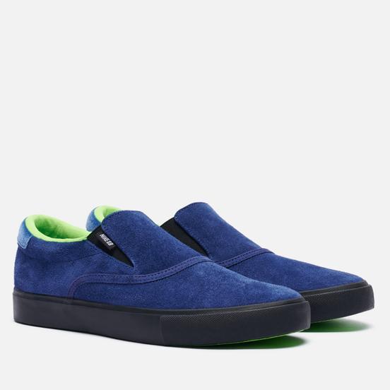 Кроссовки Nike SB Zoom Verona Slip Leo Blue Void/Black/Blue Void/Electric Green