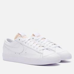Женские кроссовки Nike Blazer Low 77 White/White/White/White