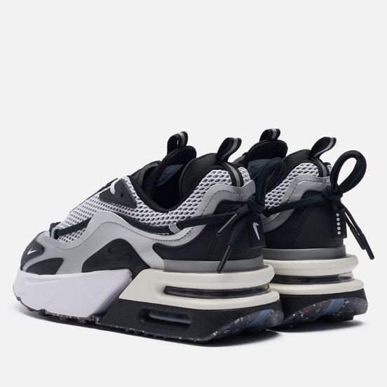 Женские кроссовки Nike Wmns Air Max Furyosa NRG Metallic Silver/Black/White/Sail