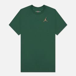 Мужская футболка Jordan Jumpman Embroidered Crew Noble Green/Archaeo Brown