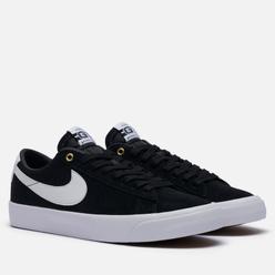 Мужские кроссовки Nike SB Zoom Blazer Low Pro GT Black/White/Black/Gum Light Brown