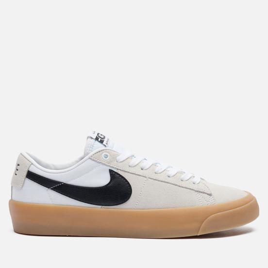 Мужские кроссовки Nike SB Zoom Blazer Low Pro GT White/Black/White/White