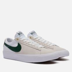 Мужские кроссовки Nike SB Zoom Blazer Low Pro GT White/Fir/White/Gum Light Brown
