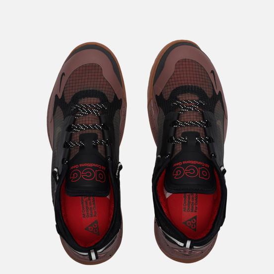 Мужские кроссовки Nike ACG Air Nasu 2 Smokey Mauve/Black/University Red