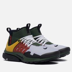 Мужские кроссовки Nike Air Presto Mid Utility Boba Fett Carbon Green/Black/Ghost/Pollen
