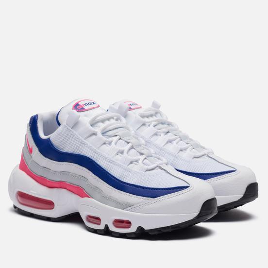 Женские кроссовки Nike Air Max 95 White/Hyper Pink/Concord/Pure Platinum