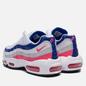 Женские кроссовки Nike Air Max 95 White/Hyper Pink/Concord/Pure Platinum фото - 2