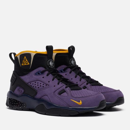 Мужские кроссовки Nike ACG Air Mowabb Gravity Purple/University Gold/Blue Void