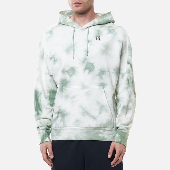 Мужская толстовка Nike Court Fleece Heritage Tie-Dye Hoodie White/Steam/White