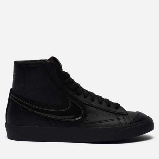 Женские кроссовки Nike Blazer Mid 77 Black/Black/Dark Grey